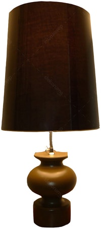Hermosa Table Lamp/Lampu Meja Vas Black