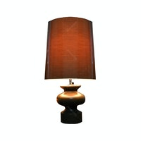 Hermosa Table Lamp/Lampu Meja Vas Brown