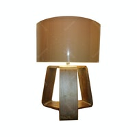 Hermosa Table Lamp/Lampu Meja Venice Shade Cream