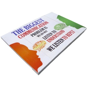 Hermosa Papan Quote 40x30 The Biggest Communication