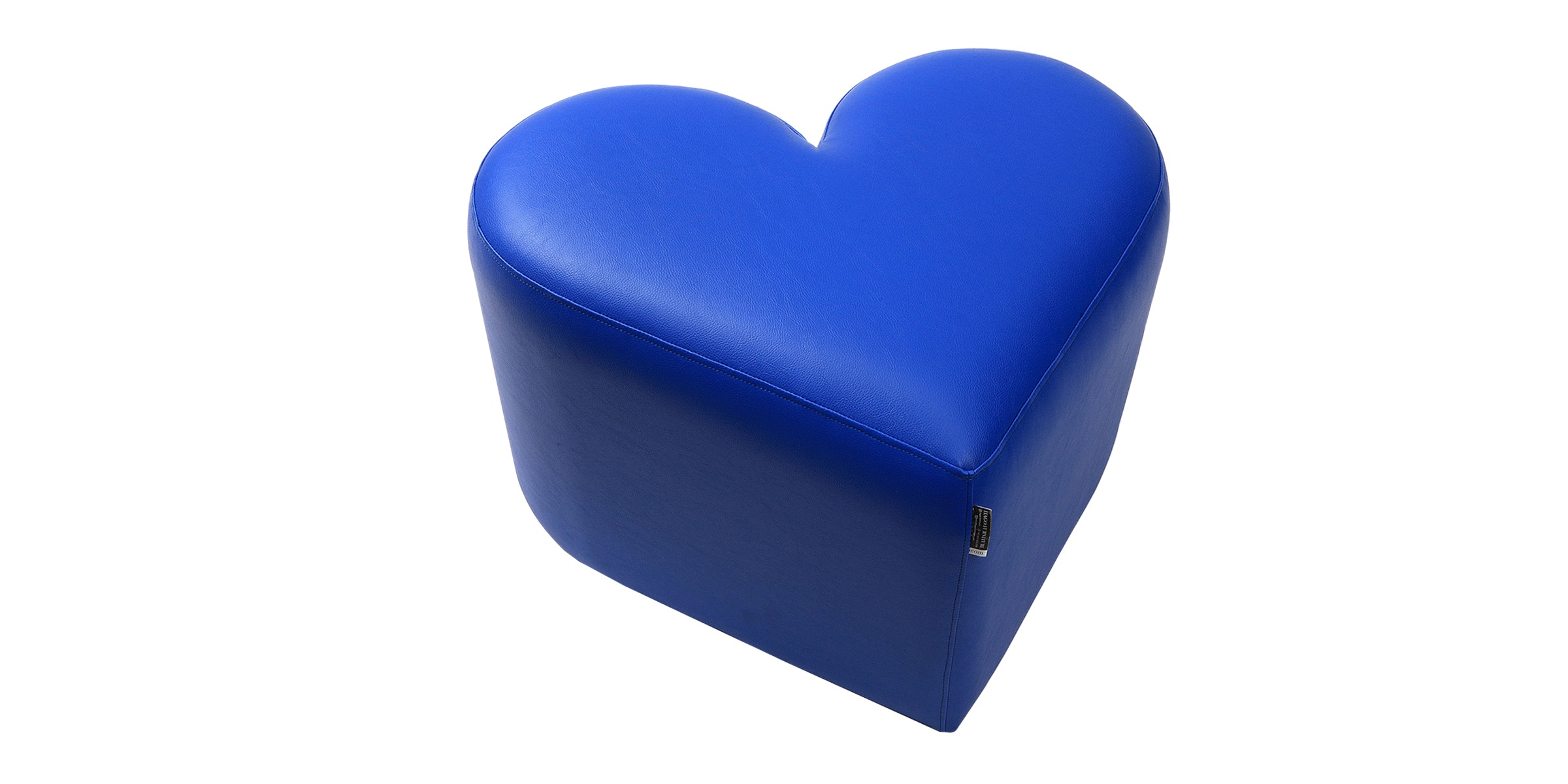 Hago Furniture Heart Unique Ottoman Biru