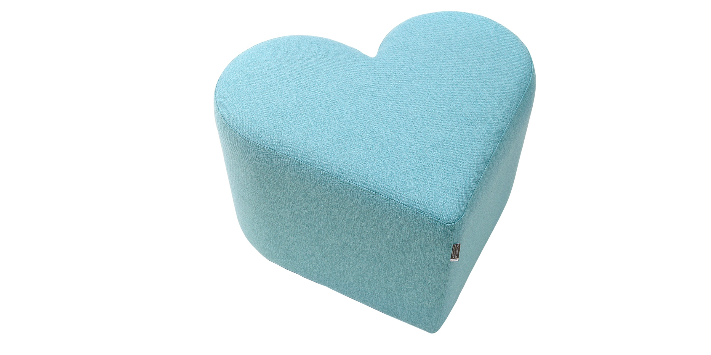 Hago Furniture Heart Unique Ottoman Hijau