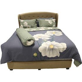 HIAS House Big Floral Bedcover Set Queen P046025 160x200cm