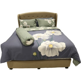 HIAS House Big Floral Bedcover Set Extra King P046027 200x200cm