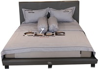 HIAS House Grey Sporting Bedcover Set Queen P046034 160x200cm