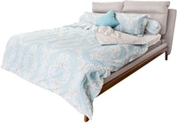 HIAS House Classic Blue Bedcover Set King P046017 180x200cm