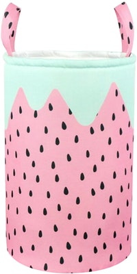 Hello Heyho Pink Watermelon Canvas Storage 30x45