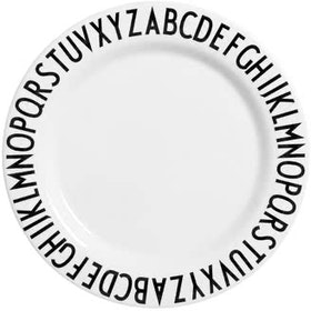 Hello Heyho Shallow Letters Plate