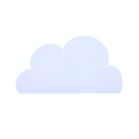 Hello Heyho Cloud Silicon Placemat White Color