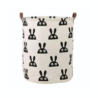 Hello Heyho Rabbit Canvas Storage