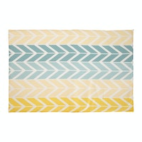 Hello Heyho Canvas Rug Colorful Heringtone