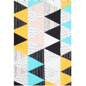 Hello Heyho Triangle Canvas Rug