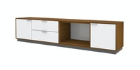 Case Furniture Cabinet Set PCI006-09-00 Rosewood - white