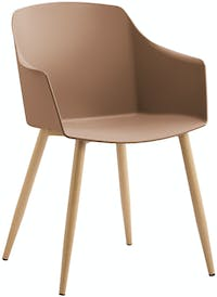 Highpoint Delano - Viola Commercial Chair - Walnut