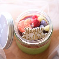 Haruhana All Berries Scented Jar Glass candle 200 gr