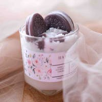 Haruhana Cookies & Cream Dessert decorative candles