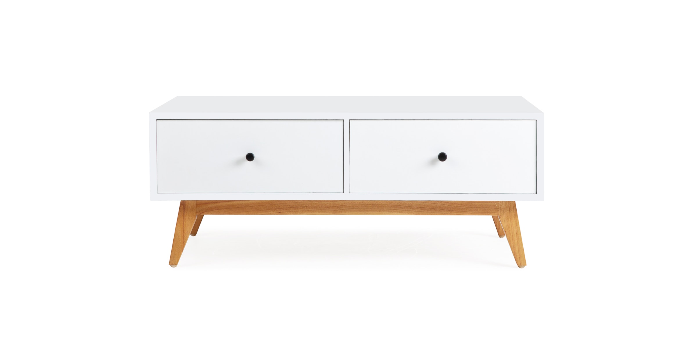 Haruki Ito Coffee Table with two-sided drawers