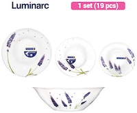 Luminarc Dinner Set Essence Lavender 19 pcs/Set