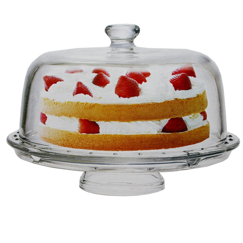 Formia Cake Plate W/Compartments Fr212Ct27 - 1 Pcs