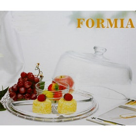 Formia Cake Plate W/Compartments FR212CT27 - 1 Pc