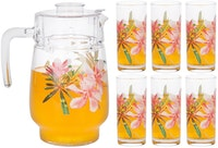 Luminarc Beverage Set 7 pcs Tivoli Freesia G8279
