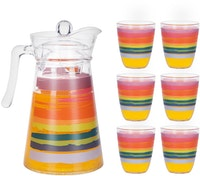 Luminarc Beverage Set 7 pcs Neo Colour Pencil