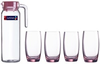Luminarc Beverage Set Octime 5 pcs Pink - 1 Set