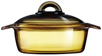 Luminarc Vitroline Amberline Blooming Casserole 1L - 1 pcs
