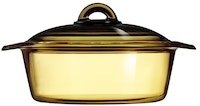 Luminarc Vitroline Amberline Blooming Casserole 2L - 1 pcs
