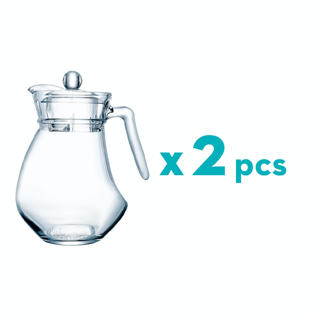 Luminarc Wavy Jug 1300ml - 2 pcs