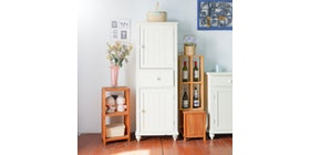 Homylooks AX High Chest (1 drawer 2 door)