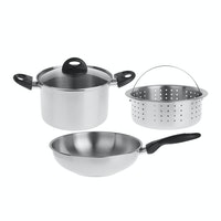 Homecook 4 - Cookware Set Of 4