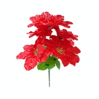 In Bloom Florist Dahlia Keriting Merah