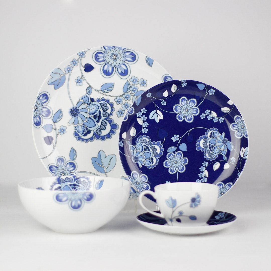 ZEN Dinner Set Batik Floral 20pcs