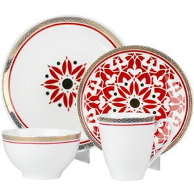 ZEN Dinner Set Royal Lotus 16pcs