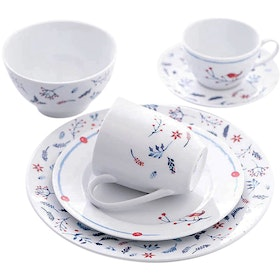 ZEN Dinner Set Snowy Blue 16pcs