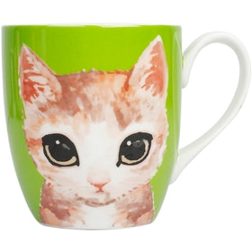 ZEN Mug Kitten - Hijau 450ml