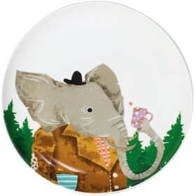 ZEN Piring Animal Drinking Series - Elephant Gajah diameter 22cm