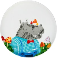ZEN Piring Animal Summer Series - Hypo Kudanil diameter 22cm