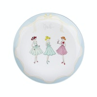 ZEN Salad Plate The Girls Biru diameter 22 cm