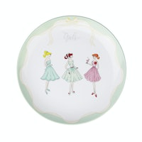 ZEN Salad Plate The Girls Hijau diameter 22 cm