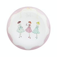 ZEN Salad Plate The Girls Pink diameter 22 cm
