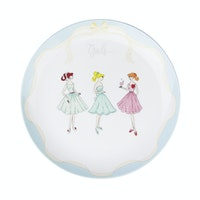 ZEN Dinner Plate The Girls Biru diameter 27 cm