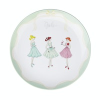 ZEN Dinner Plate The Girls Hijau diameter 27 cm