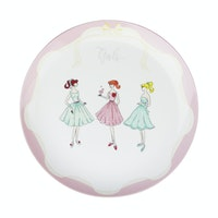 ZEN Dinner Plate The Girls Pink diameter 27 cm