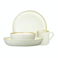 ZEN Dinner Set Stoneware Series - Cream + Free Gift Box