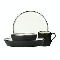 ZEN Dinner Set Stoneware Series - Grey + Free Gift Box