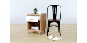 Isjava Furniture Glenmore Bed Side Table