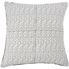 Maiika Point Canvas Black Gold Cover Pillow 45x45cm