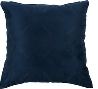 Maiika Plan Suede Blue Navy Cover Pillow 45x45cm
